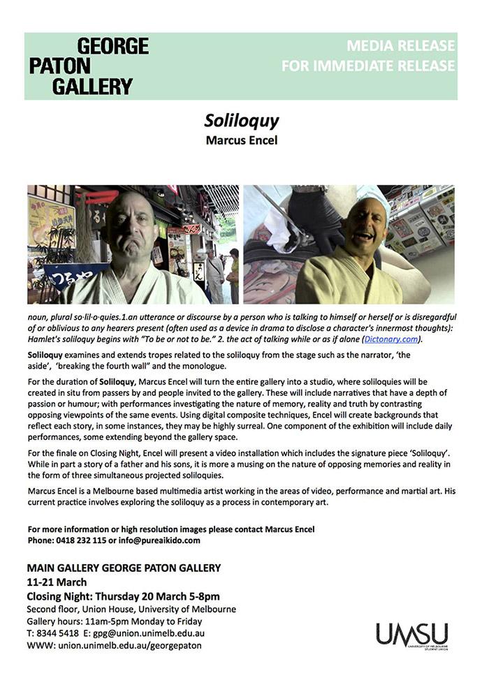 Soliloquy Marcus Encel